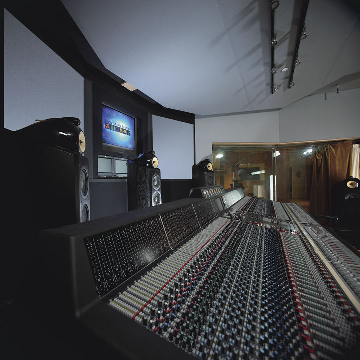The multichannel mix room at Sony Music Studios, NY, circa 2002